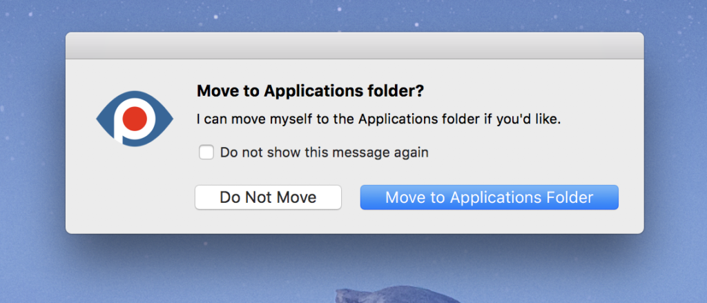 "Click ""Move to Applications"""