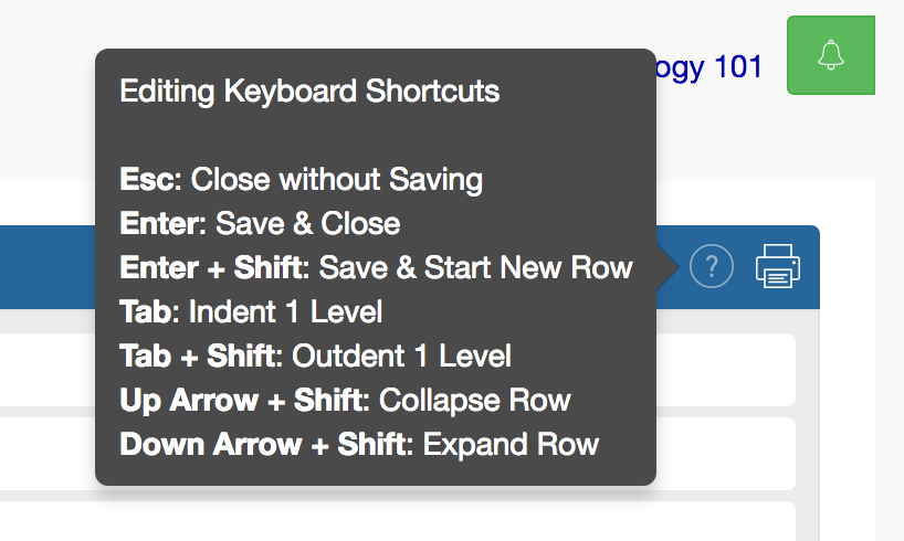 New Keyboard Shortcut image